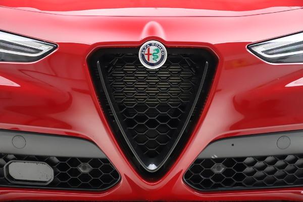New 2020 Alfa Romeo Stelvio Ti Sport Q4 for sale $54,195 at Alfa Romeo of Greenwich in Greenwich CT 06830 7