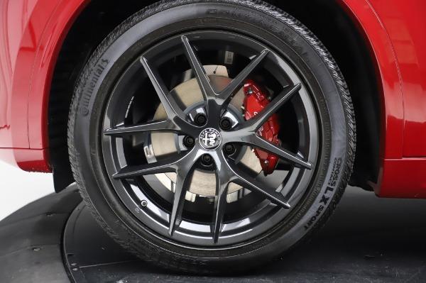 New 2020 Alfa Romeo Stelvio Ti Sport Q4 for sale $54,195 at Alfa Romeo of Greenwich in Greenwich CT 06830 8