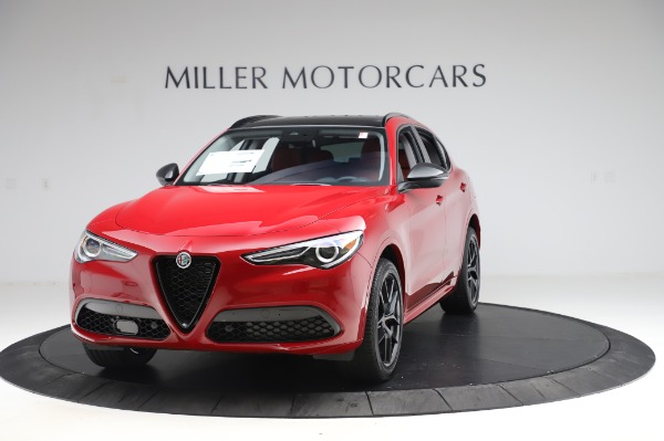 New 2020 Alfa Romeo Stelvio Ti Sport Q4 for sale $54,195 at Alfa Romeo of Greenwich in Greenwich CT 06830 1