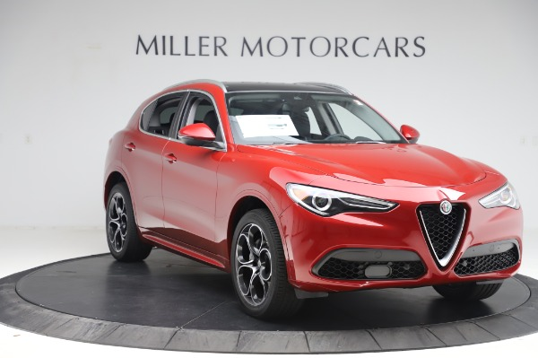 New 2020 Alfa Romeo Stelvio Ti Lusso Q4 for sale $56,495 at Alfa Romeo of Greenwich in Greenwich CT 06830 11