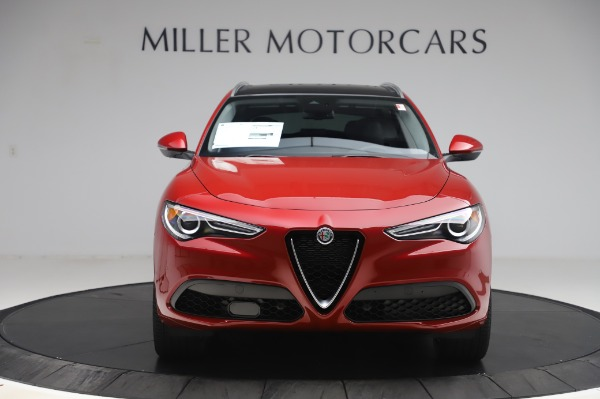 New 2020 Alfa Romeo Stelvio Ti Lusso Q4 for sale $56,495 at Alfa Romeo of Greenwich in Greenwich CT 06830 12