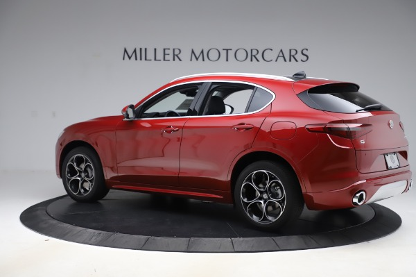 New 2020 Alfa Romeo Stelvio Ti Lusso Q4 for sale $56,495 at Alfa Romeo of Greenwich in Greenwich CT 06830 4