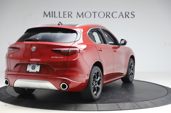 New 2020 Alfa Romeo Stelvio Ti Lusso Q4 for sale $56,495 at Alfa Romeo of Greenwich in Greenwich CT 06830 7