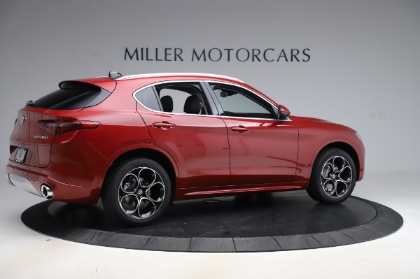 New 2020 Alfa Romeo Stelvio Ti Lusso Q4 for sale $56,495 at Alfa Romeo of Greenwich in Greenwich CT 06830 8
