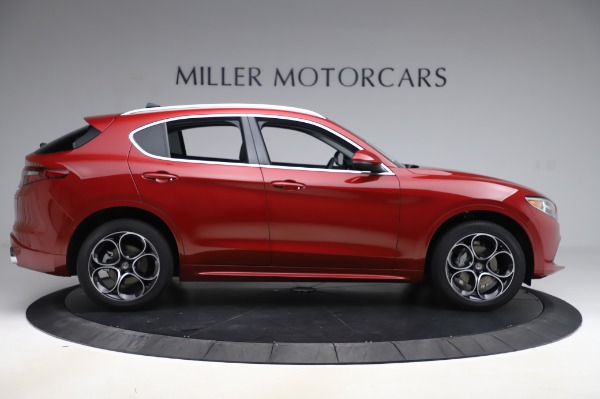 New 2020 Alfa Romeo Stelvio Ti Lusso Q4 for sale $56,495 at Alfa Romeo of Greenwich in Greenwich CT 06830 9