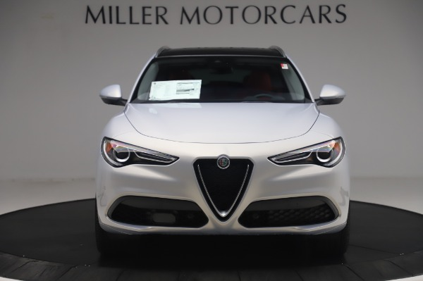 New 2020 Alfa Romeo Stelvio Ti Lusso Q4 for sale $54,145 at Alfa Romeo of Greenwich in Greenwich CT 06830 12