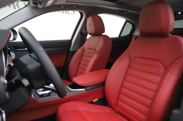 New 2020 Alfa Romeo Stelvio Ti Lusso Q4 for sale $54,145 at Alfa Romeo of Greenwich in Greenwich CT 06830 15