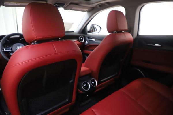 New 2020 Alfa Romeo Stelvio Ti Lusso Q4 for sale $54,145 at Alfa Romeo of Greenwich in Greenwich CT 06830 22