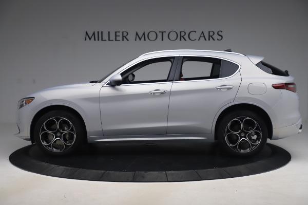 New 2020 Alfa Romeo Stelvio Ti Lusso Q4 for sale $54,145 at Alfa Romeo of Greenwich in Greenwich CT 06830 3