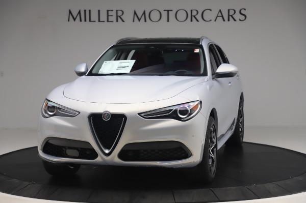 New 2020 Alfa Romeo Stelvio Ti Lusso Q4 for sale $54,145 at Alfa Romeo of Greenwich in Greenwich CT 06830 1