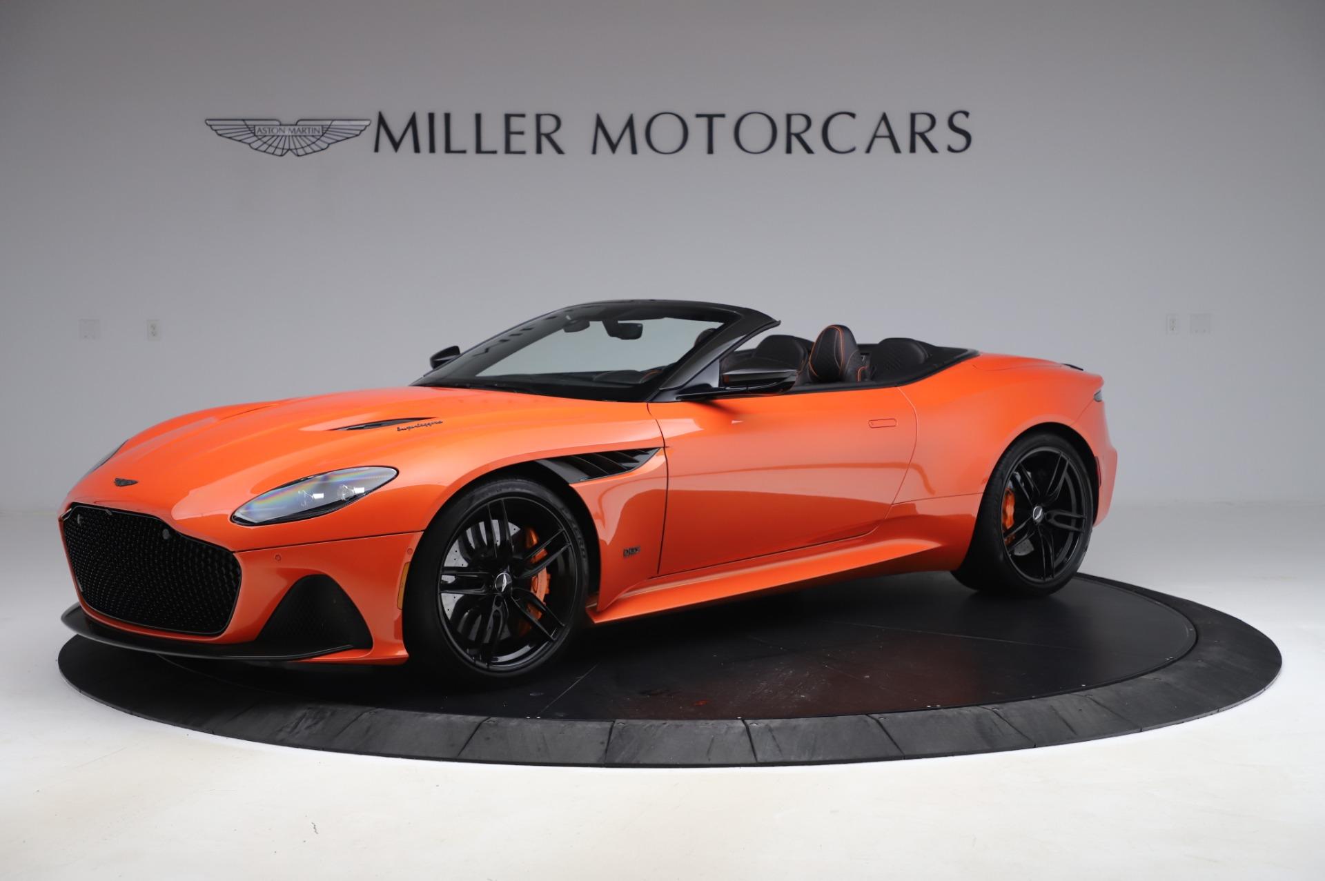 Used 2020 Aston Martin DBS Superleggera Volante for sale $339,800 at Alfa Romeo of Greenwich in Greenwich CT 06830 1