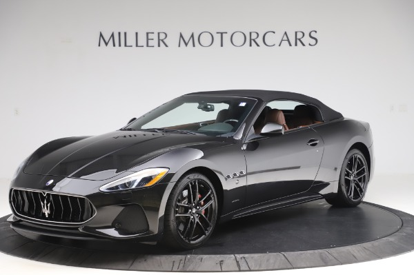 New 2019 Maserati GranTurismo Sport for sale Call for price at Alfa Romeo of Greenwich in Greenwich CT 06830 3
