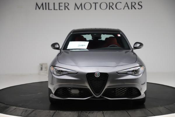 New 2020 Alfa Romeo Giulia Ti Sport Q4 for sale $48,595 at Alfa Romeo of Greenwich in Greenwich CT 06830 12