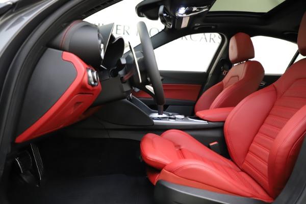 New 2020 Alfa Romeo Giulia Ti Sport Q4 for sale $48,595 at Alfa Romeo of Greenwich in Greenwich CT 06830 14