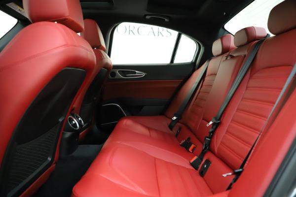 New 2020 Alfa Romeo Giulia Ti Sport Q4 for sale $48,595 at Alfa Romeo of Greenwich in Greenwich CT 06830 19
