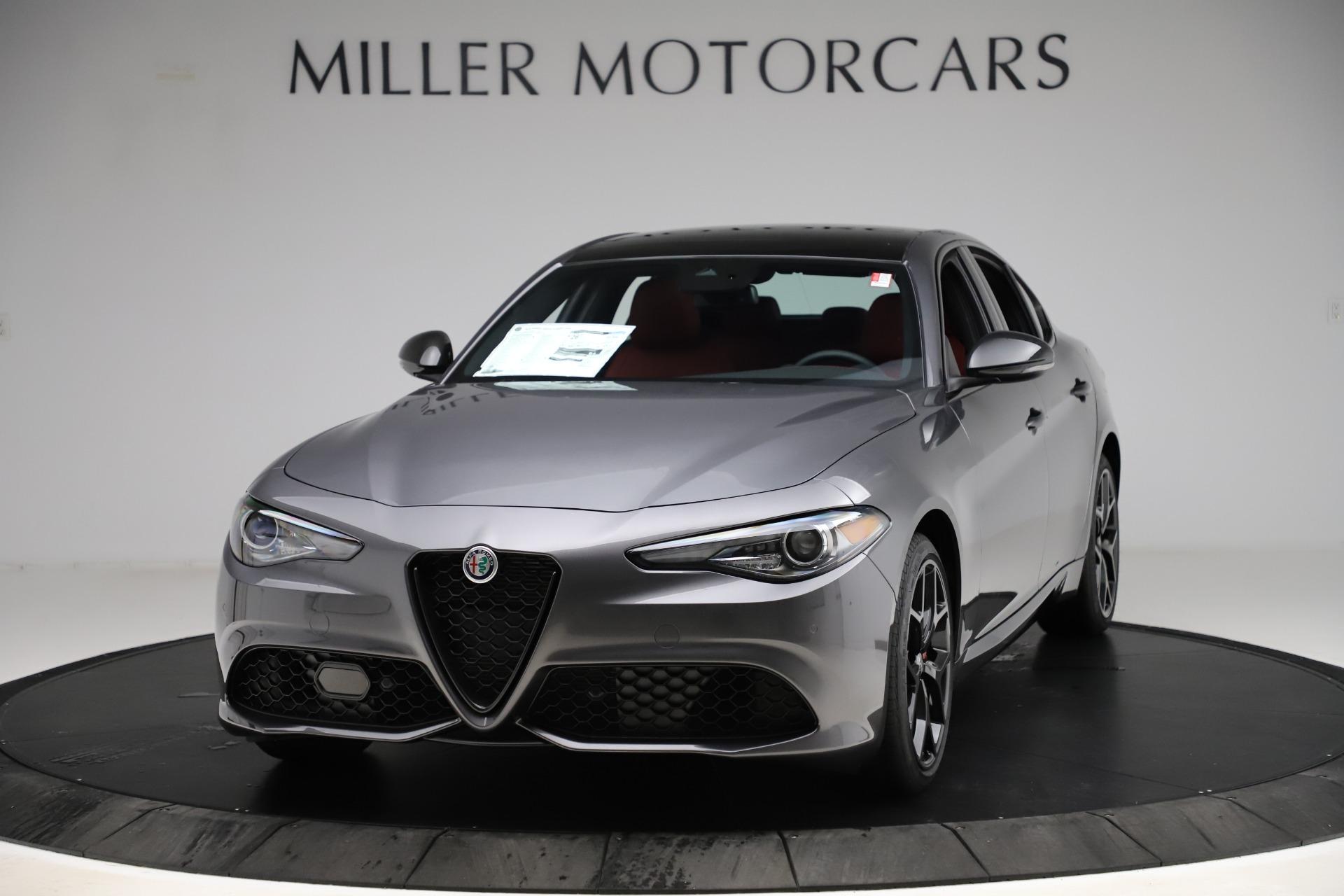 New 2020 Alfa Romeo Giulia Ti Sport Q4 for sale $48,595 at Alfa Romeo of Greenwich in Greenwich CT 06830 1