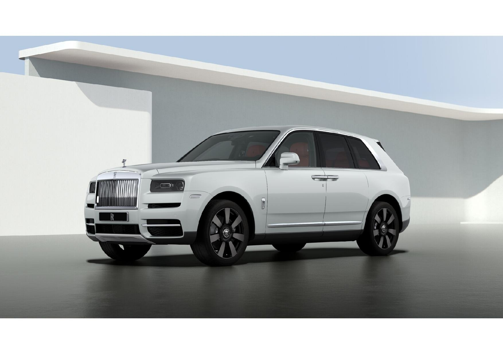 New 2021 Rolls-Royce Cullinan for sale Sold at Alfa Romeo of Greenwich in Greenwich CT 06830 1