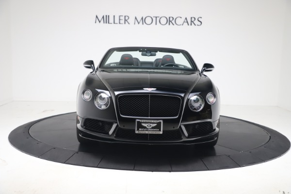 Used 2014 Bentley Continental GT Convertible V8 S for sale $109,900 at Alfa Romeo of Greenwich in Greenwich CT 06830 10