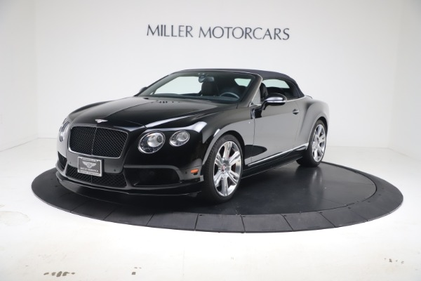 Used 2014 Bentley Continental GT Convertible V8 S for sale $109,900 at Alfa Romeo of Greenwich in Greenwich CT 06830 11