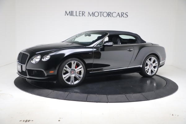Used 2014 Bentley Continental GTC V8 S for sale $109,900 at Alfa Romeo of Greenwich in Greenwich CT 06830 12
