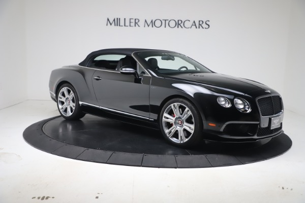 Used 2014 Bentley Continental GTC V8 S for sale $109,900 at Alfa Romeo of Greenwich in Greenwich CT 06830 18