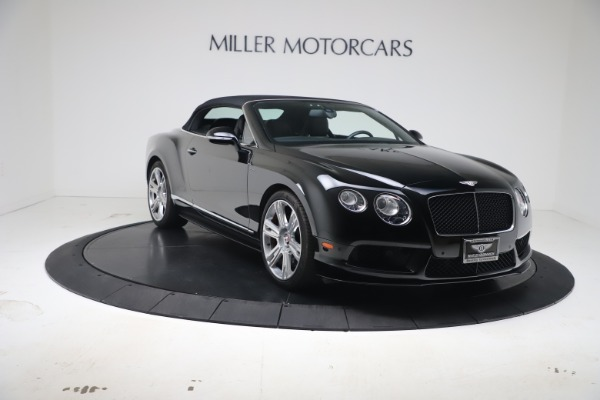 Used 2014 Bentley Continental GTC V8 S for sale $109,900 at Alfa Romeo of Greenwich in Greenwich CT 06830 19