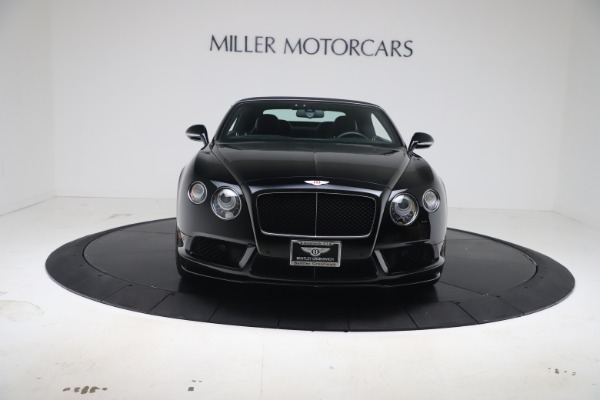 Used 2014 Bentley Continental GTC V8 S for sale $109,900 at Alfa Romeo of Greenwich in Greenwich CT 06830 20