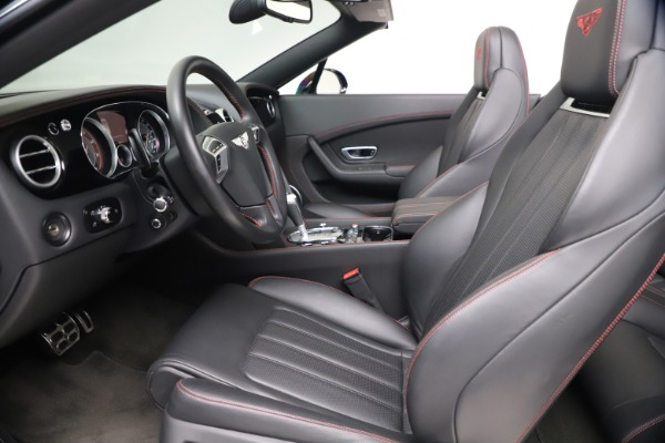 Used 2014 Bentley Continental GT Convertible V8 S for sale $109,900 at Alfa Romeo of Greenwich in Greenwich CT 06830 25