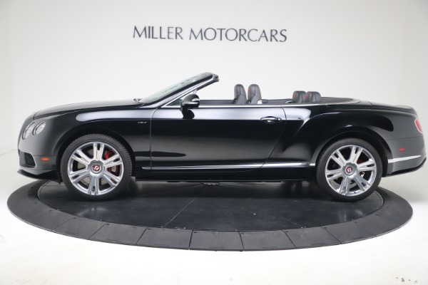 Used 2014 Bentley Continental GT Convertible V8 S for sale $109,900 at Alfa Romeo of Greenwich in Greenwich CT 06830 3