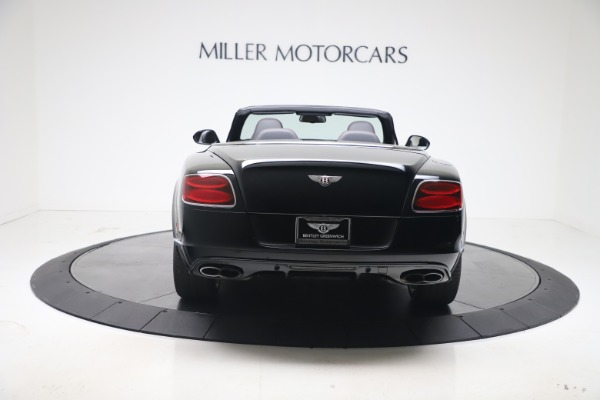 Used 2014 Bentley Continental GT Convertible V8 S for sale $109,900 at Alfa Romeo of Greenwich in Greenwich CT 06830 5