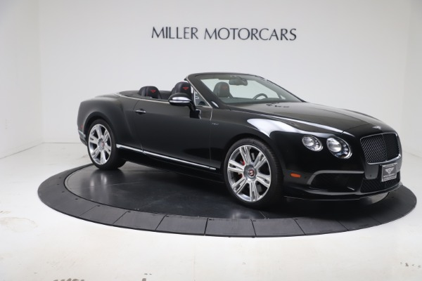 Used 2014 Bentley Continental GT Convertible V8 S for sale $109,900 at Alfa Romeo of Greenwich in Greenwich CT 06830 9