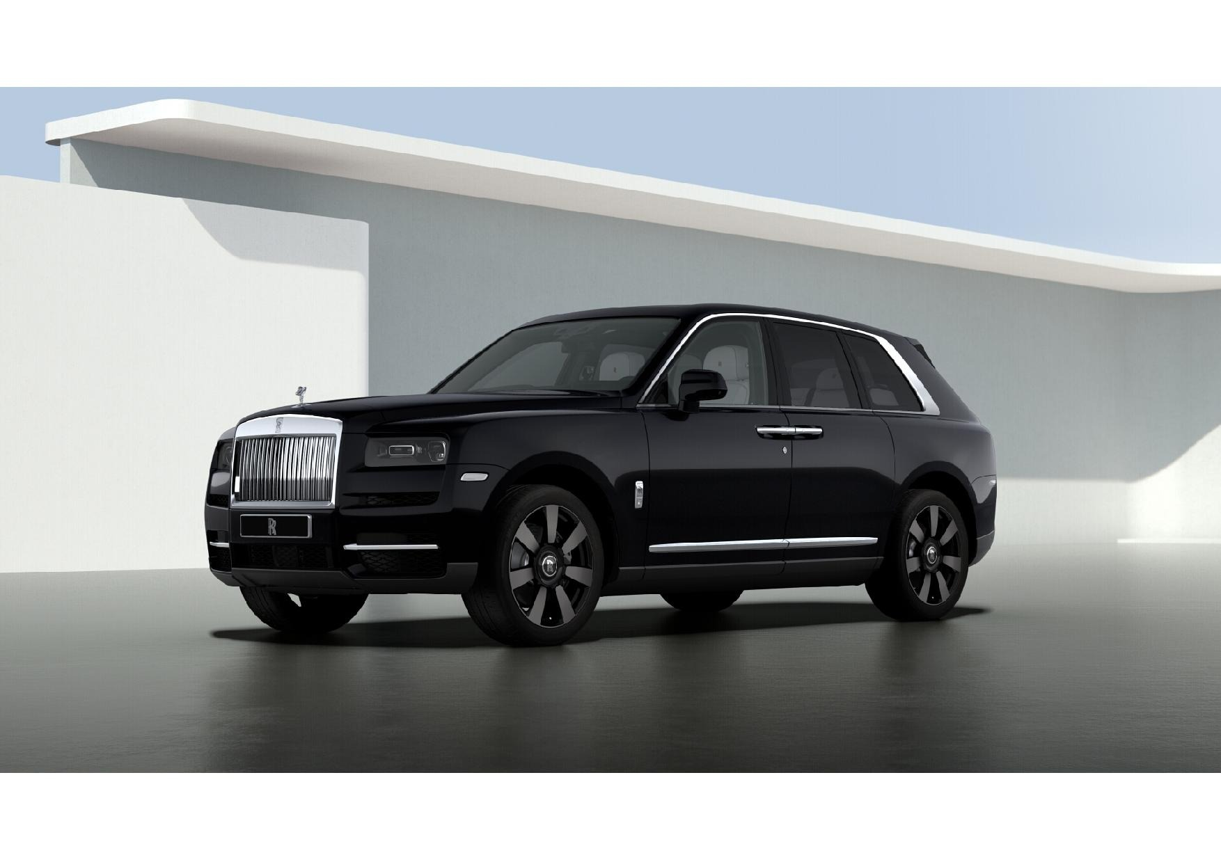 New 2021 Rolls-Royce Cullinan for sale $376,075 at Alfa Romeo of Greenwich in Greenwich CT 06830 1