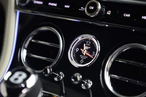 New 2020 Bentley Continental GT V8 First Edition for sale $276,600 at Alfa Romeo of Greenwich in Greenwich CT 06830 26