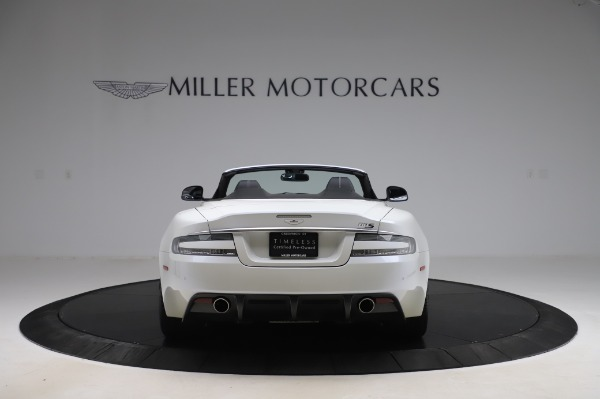 Used 2010 Aston Martin DBS Volante for sale $104,900 at Alfa Romeo of Greenwich in Greenwich CT 06830 5