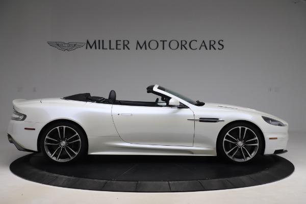 Used 2010 Aston Martin DBS Volante for sale $104,900 at Alfa Romeo of Greenwich in Greenwich CT 06830 8