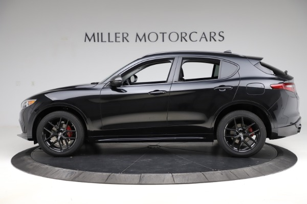 New 2020 Alfa Romeo Stelvio Ti Q4 for sale Sold at Alfa Romeo of Greenwich in Greenwich CT 06830 3
