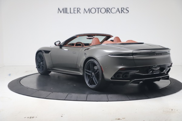 New 2020 Aston Martin DBS Superleggera Volante for sale $375,916 at Alfa Romeo of Greenwich in Greenwich CT 06830 4