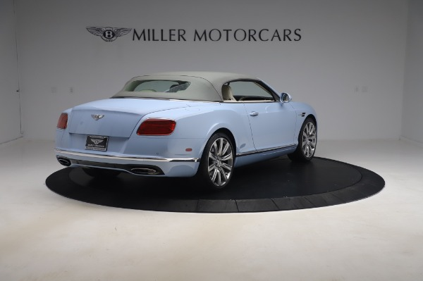 Used 2017 Bentley Continental GT W12 for sale Call for price at Alfa Romeo of Greenwich in Greenwich CT 06830 20