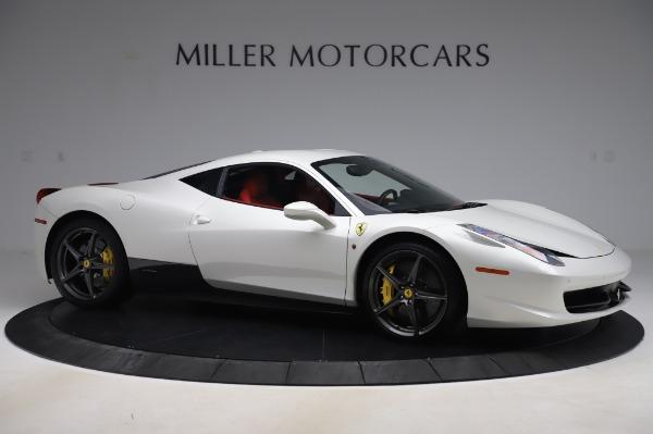 Used 2013 Ferrari 458 Italia for sale $229,900 at Alfa Romeo of Greenwich in Greenwich CT 06830 10