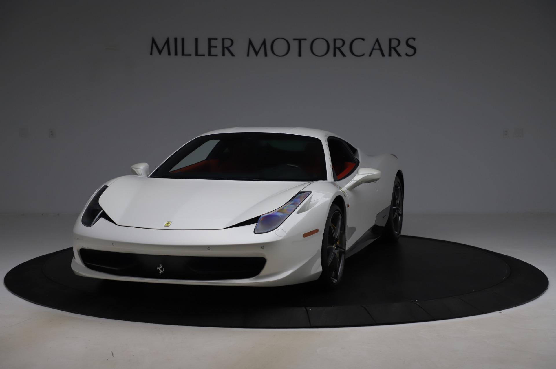 Used 2013 Ferrari 458 Italia for sale $229,900 at Alfa Romeo of Greenwich in Greenwich CT 06830 1