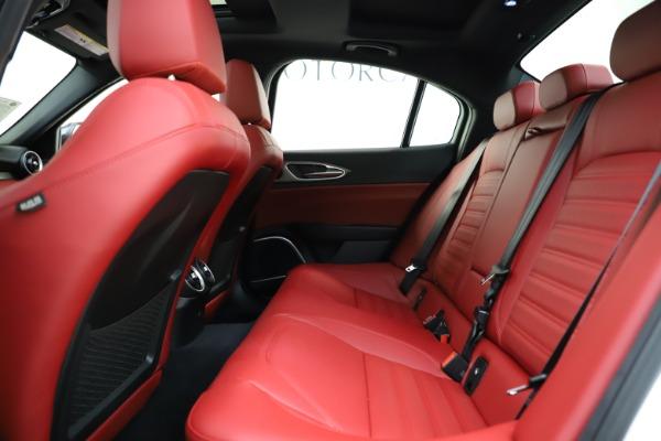 New 2020 Alfa Romeo Giulia Ti Sport Q4 for sale $51,495 at Alfa Romeo of Greenwich in Greenwich CT 06830 17
