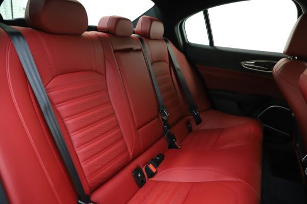 New 2020 Alfa Romeo Giulia Ti Sport Q4 for sale $51,495 at Alfa Romeo of Greenwich in Greenwich CT 06830 22