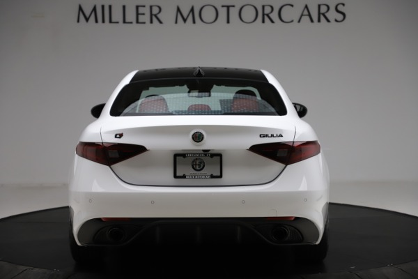 New 2020 Alfa Romeo Giulia Ti Sport Q4 for sale $51,495 at Alfa Romeo of Greenwich in Greenwich CT 06830 6