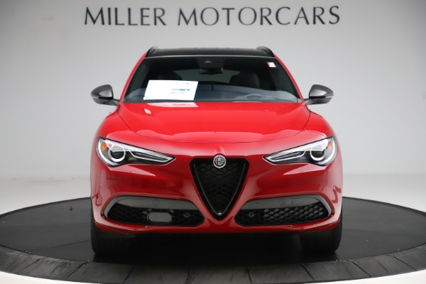 New 2020 Alfa Romeo Stelvio Ti Sport Carbon Q4 for sale Sold at Alfa Romeo of Greenwich in Greenwich CT 06830 12