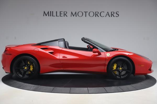 Used 2018 Ferrari 488 Spider for sale $286,900 at Alfa Romeo of Greenwich in Greenwich CT 06830 9