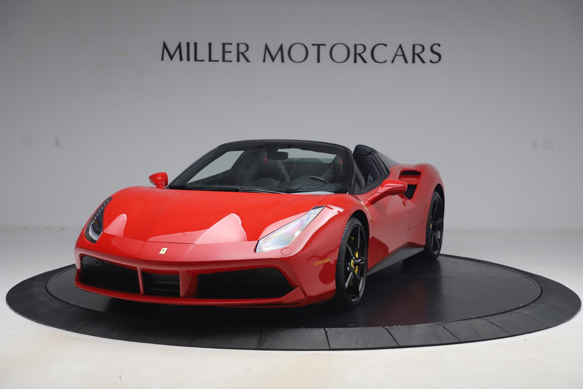 Used 2018 Ferrari 488 Spider for sale $286,900 at Alfa Romeo of Greenwich in Greenwich CT 06830 1