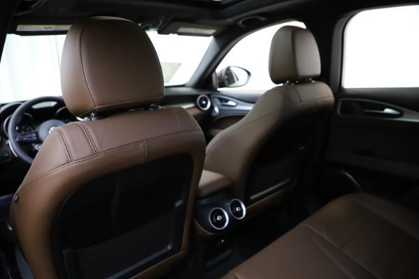 New 2020 Alfa Romeo Stelvio Ti Sport Q4 for sale Sold at Alfa Romeo of Greenwich in Greenwich CT 06830 20