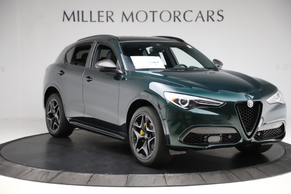 New 2020 Alfa Romeo Stelvio Ti Sport Carbon Q4 for sale Sold at Alfa Romeo of Greenwich in Greenwich CT 06830 11