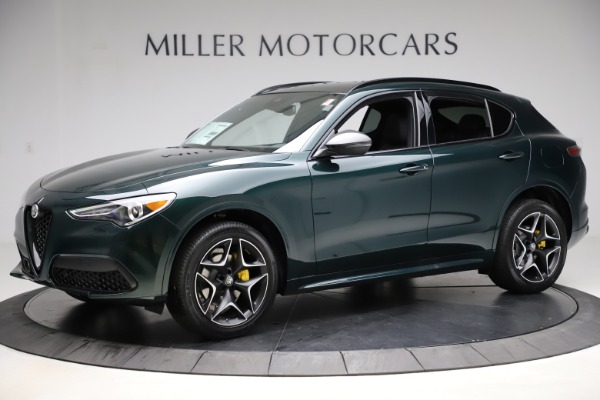 New 2020 Alfa Romeo Stelvio Ti Sport Carbon Q4 for sale Sold at Alfa Romeo of Greenwich in Greenwich CT 06830 2
