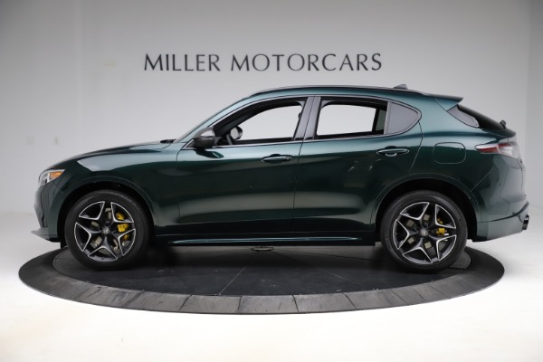 New 2020 Alfa Romeo Stelvio Ti Sport Carbon Q4 for sale Sold at Alfa Romeo of Greenwich in Greenwich CT 06830 3